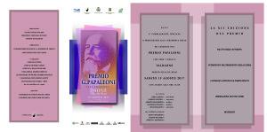 invito Premio Papaleoni